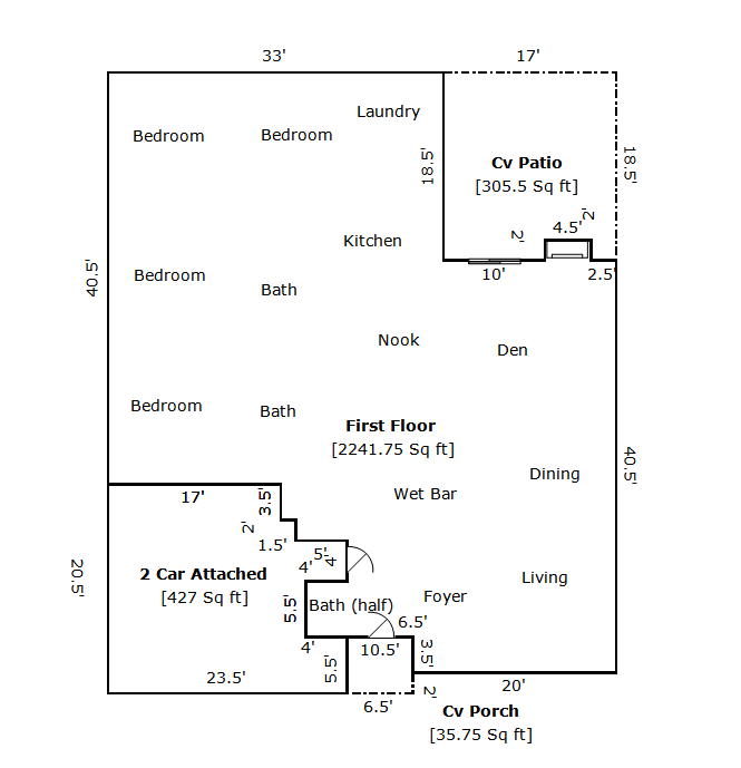 How to measure house square footage portland oregon real estate appraisal blog gary f how to - How to determine the square footage of a house pict ...